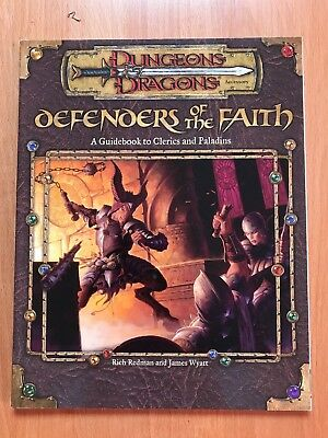 Defenders of the Faith D&D 3.0 A Guidebook to Clerics and Paladins