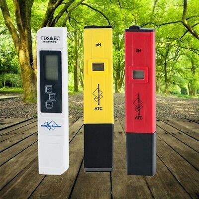 MS® PH Meter High Precision Waterproof pH 1-14 + TDS Meter For Home Water Test