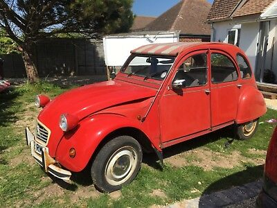 2CV in need of TLC. Or parts