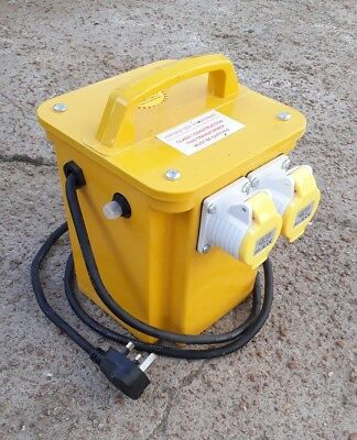 NEW! 3.3KVA Site Transformer 110V Twin Outlet  KVA 3.3