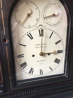 Antique Bracket Clock: James McCabe, No 2345,