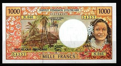 French Pacific Territories - 1996 French Administration 1000 Francs P2k XF+/aUNC