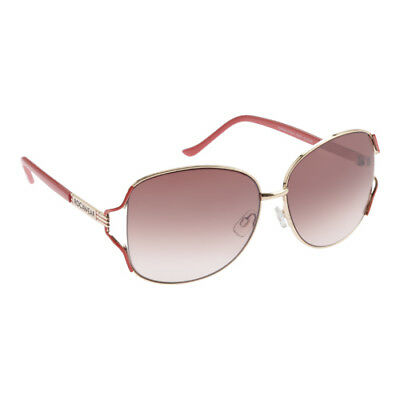 f0577a1d344d6 RocaWear Women s R575 Oversized Sunglasses Gold Coral Gradient Brown Blush