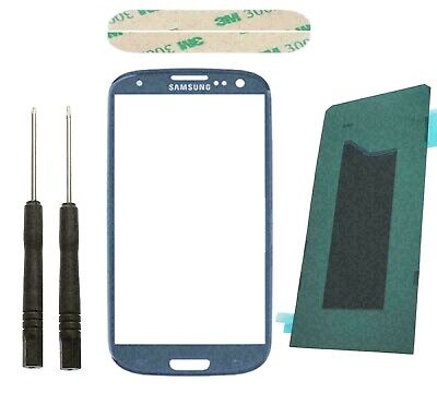 Samsung Galaxy S3 I9300 Touch Screen Digitizer Front Glass Display Lens Blue