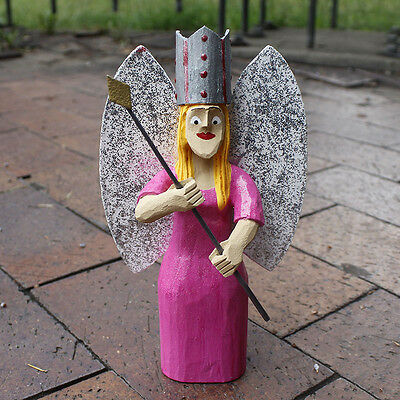 NAVAJO FOLK ART-GLINDA THE GOOD WITCH  by  VIRGIL WOOD - NATIVE AMERICAN