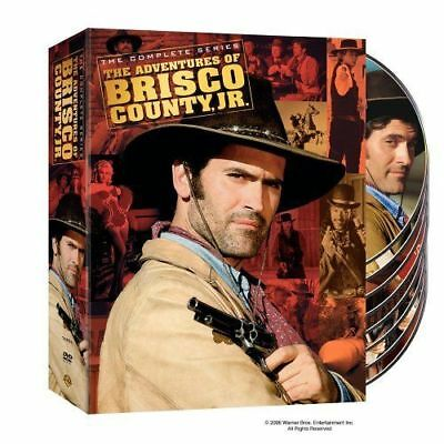 THE ADVENTURES OF BRISCO COUNTY JR complete series box set. Region free. New DVD