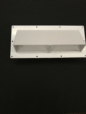Exterior Wall Vent Ducted Range Hood RV Trailer Horizontal Exhaust Outside