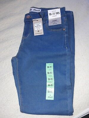 Girls jeans age 10-11