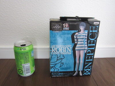 New with broken box One Piece Robin Strong World figure free shipping from Japan