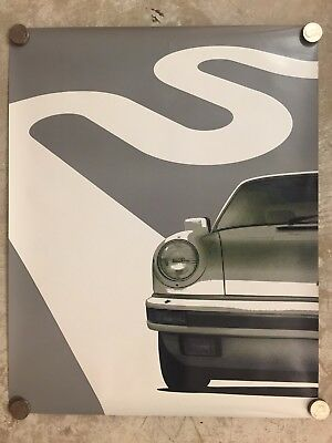 1975 Porsche 911 Coupe Advertising Sales Poster RARE!! Awesome L@@K