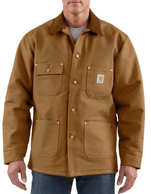 Carhartt Duck Chore Coat Med/Tall NEW! Lined Classic Water/ Wind Repellent
