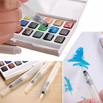 3pcs Pilot Ink Pen for Water Brush Watercolor Calligraphy Painting Tool Set 0y