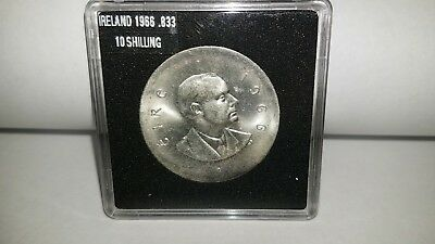 "1966 Ireland 10 Shilling ""Easter Uprising"".833 SILVER"