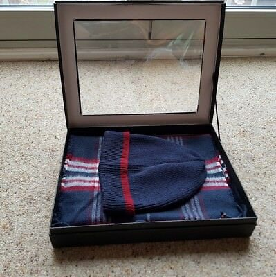 Hat and Scarf Set in Gift Box - Brand New Fantastic Value
