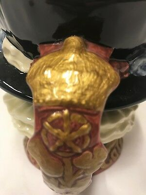 Royal Doulton Gold Handle Early Beefeater Character Jug - exceptionally rare