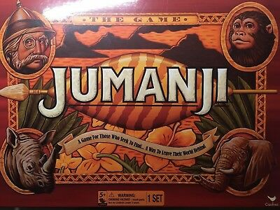 Cardinal Games Jumanji the Game Action Board Game Family Action