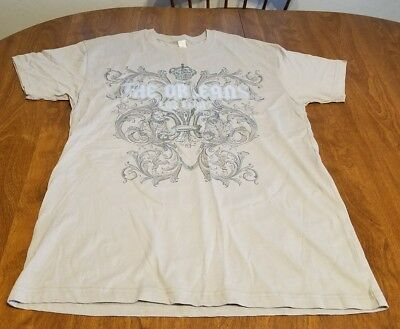 The Orleans Casino Las Vegas Gray T-Shirt Women's Size Large 100% Cotton