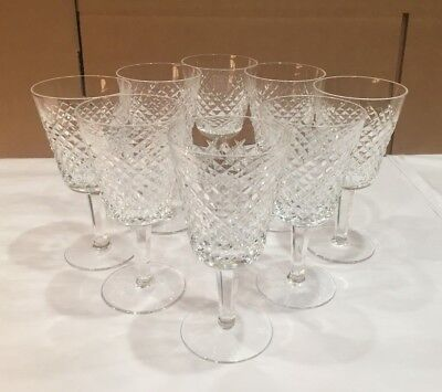 Waterford Crystal - Alana Water Goblets - Set Of 8
