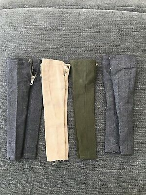 Vintage Ken Slacks/Pants Lot Orig. Mattel YKK ZIPPER Japan 1960,s