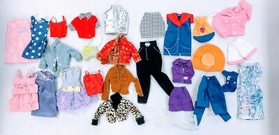 Lot 27 Barbie Doll Clothes by Mattel and accessories