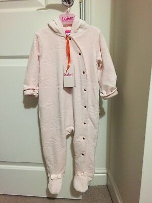 ted baker girls 12-18 months sleep suit