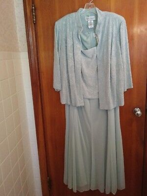 Mother Of The Bride Plus Size Dress w/Jacket/fFormal  EVENING WEAR