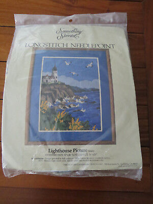 "Something Special ""Lighthouse Picture 30400"" Longstitch Needlepoint  - Complete"