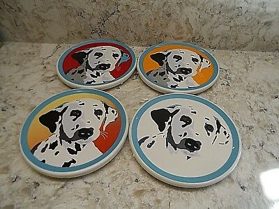 Bill Tosetti Dalmatian Coasters, Set Of 4 from Westland Giftware