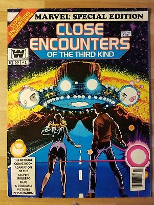 Close Encounters Of The Third Kind  - Marvel Special Edition - Vol 1, #3 1978