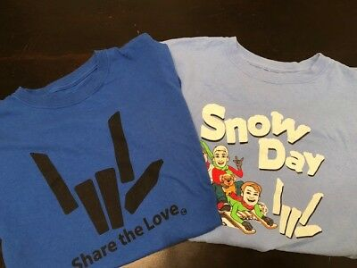 Stephen Sharer Lot of 2 T-Shirts - Share the Love