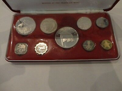 Commonwealth of the Bahamas 1974 proof coin set