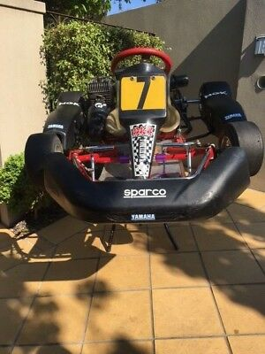 Go Kart Trailer and Go Kart x 2 Plus Heaps of spares