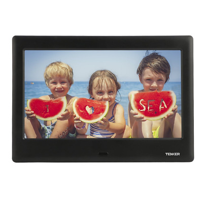 TENKER 7-inch HD Digital Photo Frame IPS LCD Screen with Auto-Rotate/Calendar/Cl