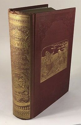 1888 My Story of the War Mary Livermore Civil War Nurse Abolitionist 1st. Ed