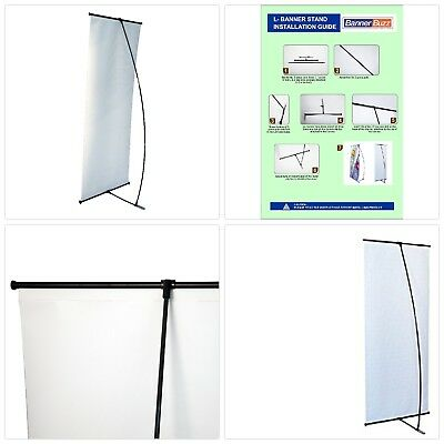 2' X 5.33' L Banner stand   Trade show Display Stand with Carry Bag