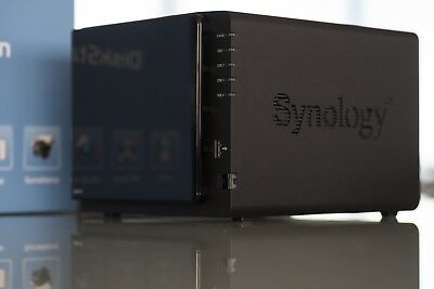 Synology DiskStation DS413 4 bay NAS + 4TB (Inc. NEW4Tb Seagate Iron Wolf HDD)