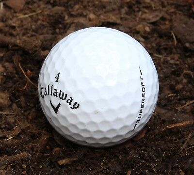 50Callaway Supersoft Excellent Condition GolfBalls