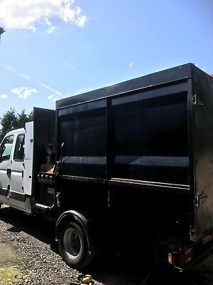 High Sided Tipping Waste Body With  Bin Lift Waste Removal, Tipper Body