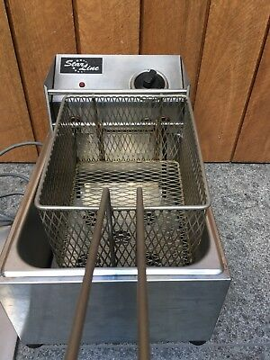 Starline Benchtop Deep Fryer, Single Vat, Chips & Fries, Com Quality, 5 Litre