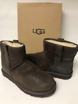 b93774fa6ea UGG MEN'S CLASSIC Mini Stitch Boots Size 7 Color Stout