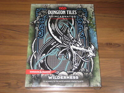 D&D 5th Edition Dungeon Tiles Reincarnated Wilderness WotC New Sealed Box