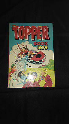 The Topper 1979 Vintage Annual Comic Hardback Book