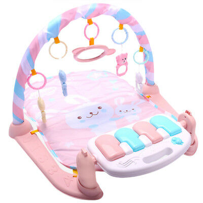 Baby Play Mat Baby GymToys 0-12 Months Soft Lighting Rattles Musical Toys F N4H6
