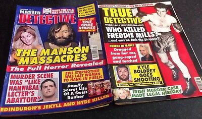 Latest Editions Of True Crime Magazines