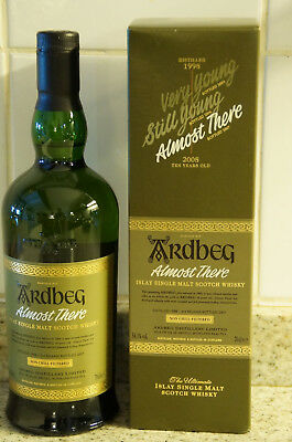 Whisky ARDBEG ALMOST THERE, 1998/2007, 70cl, 54,1%