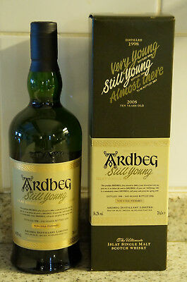 Whisky ARDBEG STILL YOUNG, 1998/2006, 70cl, 56,2%