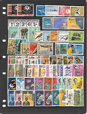 Africa S009 Coll Of Full Sets Of Umm, Used And Mm Stamps