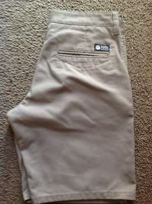 Element Boys Beige Walkshorts Size 26