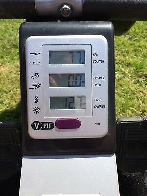 V-Fit Beny Air Rowing Machine