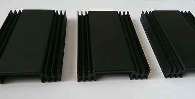 RS Components 3x Aluminium Heat Sink For LEDS Cooling Mosfets Power Transistor